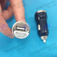 Cheap Car Charger Adaptor Mini Bullet USB 1-Port For iPhone 3GS 4 5 C S Samsung