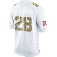 Men american football jerseys free - Salute to Service Game White American Jersey Football Jerseys Mix order