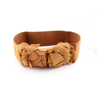 Wholesale Fahion Candy Rose Belt Fashion Women s Flower Belts Silk Belts for Women