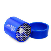 Cheap Simota Intake Supercharge Blue Turbo Charge Fan With Mesh Gas Saver Ventilator Stainless Steel Blade Fuel Improve 55-64mm Turbonator