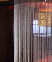 Chandelier Curtains: 30M roll 10mm acrylic curtain craft disk beaded Iridescent crystal garland  strands for wedding Party decoration chandelier wa081,Lighting
