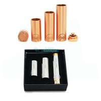 Wholesale Morpheus Mod Full Mechanical Mod Stainless Steel Tubes Morpheus Battery Tube Mods Copper Mod E Cigarette Fit Battery