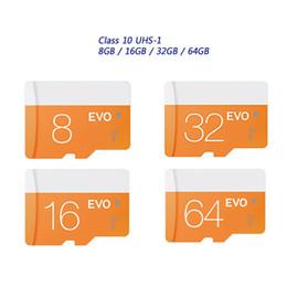 2017 Новое горячее !! Class 10 EVO 128GB 64GB 32GB 16GB 8GB Micr SD-карта MicroSD TF карта памяти C10 Flash SDHC SD адаптер Розничный пакет
