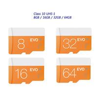 2017 Новый горячий !! Класс 10 EVO 128GB 64GB 32GB 16GB 8GB Micr SD карта MicroSD TF карты памяти SDHC С10 флэш-памяти SD адаптер розничного пакета