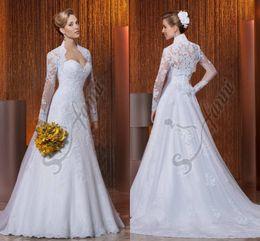 discount beautiful designer gowns vestido de noiva custom made vintage 2015 designer beautiful jacket lace wedding
