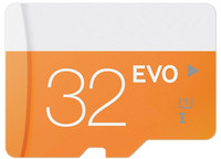 2017 Nouvelle EVO d'arrivée 64GB 32GB 16GB 8GB Micr Carte SD MicroSD TF Carte Mémoire Class 10 Flash SDHC Adaptateur SD Free Retail Package DHL Freeship