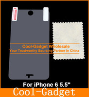 Wholesale Clear High Glossy Screen Protector Guard Film Shield Skin for iPhone G Plus iPhone6 quot quot No RP MCP891