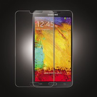 Wholesale Explosion Proof Screen Protector Premium Real Tempered Glass Film With Retail Package For Samsung Note Note