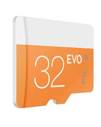 2017 adaptateurs memory stick Class 10 EVO 64 Go 32 Go 16 Go 8 Go Micro Carte SD MicroSD TF Carte Mémoire C10 Flash SDHC SD Adaptateur SDXC Blanc Orange bon marché adaptateurs memory stick