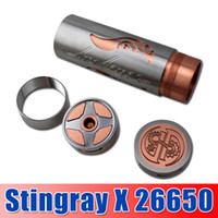 DHL free !!! Stingray X Mod SS RDA Full Mechanical Mod Clone...