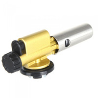 Wholesale Portable Metal Copper Burner Torch Flame Maker Gun Lighter Electronic Ignition for Camping Picnic BBQ