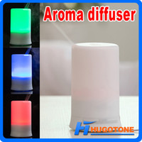 aroma diffuser - New Portable Colorful Home Humidifier ML Aroma Diffuser Diffusion Air Purification Baby Humidifier Christmas Gift
