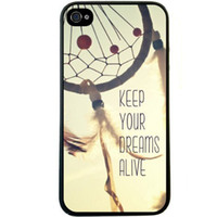apple quotes - Brand New Retro Keep Your Dreams Alive Quote Hard Plastic Mobile Phone Shell Case Skin Cover For Iphone up