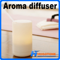 Wholesale Newest Mini USB Air Freshener Car Humidifier Vehicle Air Purifier ML Capacity Warm Mist White Aroma Diffuser for Home Room