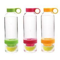 Wholesale 800ml Citrus Zinger Fruit Infusion Water Bottle Citrus Zinger Water Bottle with Citrus Juicer Lemon cup with Zinger logo