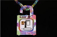 Wholesale R SIM RSIM PLUS RSIM9 RSIM9 R SIM PRO Unlock SIM Card available for iphone S C S X IOS7 X Bata8 X