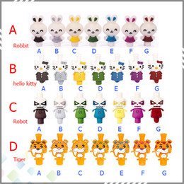 Wholesale 510 EGO Silicone Drip Tips Robot Drip Tips Robbit Drip Tip hello kitty and Tiger Mouthpieces for CE4 DCT EE2 CE5 E Cig Clearomizer