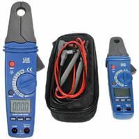digital meter - CEM DT Clamp Meter AC DC mA High Resolution Low Current V R C Hz Functions
