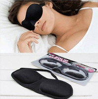 3D Sleep Rest Travel Eye Mask Sponge Cover Blindfold Shade E...