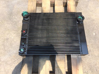 air cooled compressor - Ingersoll Rand OEM Heat Exchanger Radiator and Oil Cooler for ML37 Air Compressor Part