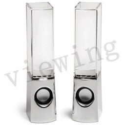Bluetooth Danse Président eau active Mini USB Portable Lumière Place cylindre Président LED pour Samsung iphone ipad MP4 PC MP3 PSP DHL gratuitement à partir de conduit l'eau de danse usb fabricateur
