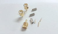 Wholesale SMA male plug crimp RG174 RG316 LMR100 cable RF connector