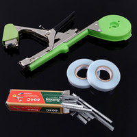 Wholesale 2014 New Tool Nail Staples Plier for Tapetool Grape Tomato Cucumber Pepper Binder Tape Plants Tools H10998