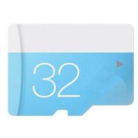 Wholesale 100 Real original capacity Class EVO GB GB GB GB GB GB Micr SD Card TF Memory Card C10 Flash SDHC SD Adapter SDXC White Blue