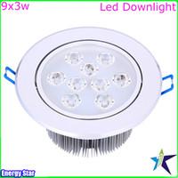 Wholesale 2pcs PAR30 W LED Spotlight Ceiling Lights E27 PAR30 X3W Warm Cold White LED Bulb Indoor Lighting Decoration