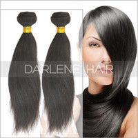 Cheap Can be Dyed and Bleached High Quality Brazilian Virgin Human Hair Weaving Long Straight Hair Bundles ST055