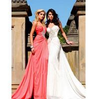 baidu china - Classic Design A line Floor Length Sweetheart Sleeveless Chiffon Baidu Evening Dress Made In China