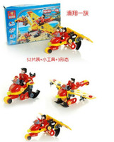 Wholesale 2014 Latest Educational toy DIY plastic building block glider model model building kits