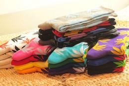 Wholesale Maple Leaf Socks AAAA Quality Multicolors Purity Cotton Towel Bottom Thicken Plantlife Skateboarding Fashion Socks for men women