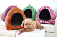 cat litter - Tent yurt kennel Small dogs Teddy pet nest Cat litter dog house color S M L