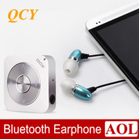 Cheap 2014 Nwe! QCY Pandora QY3 mini stereo Bluetooth headset headphones binaural movement Wireless stereo audio transmission FOR Music phone