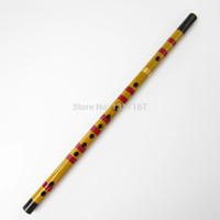 Wholesale 10pcs Natural bamboo flute bamboo flute kisser props national musical instrument clarinet