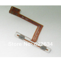 Cheap Wholesale-op-For LG Optimus G E975 E973 E971 F180 E977 LS970 F180K F180S F180L Volume Button Connector Flex Cable Inner volume