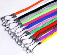Wholesale Lanyard Necklace String Neck Chain Sling w Clip Ring for Ego Series ego t ego c ego w Electronic Cigarette E Cigarette E Cig ePacket