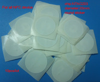 Wholesale 10pcs NFC Tags sticker for all NFC phone tablet and other nfc product NTAG203 android phone factory directly sale
