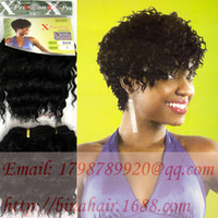 Wholesale xpression weaving synthetic hair extension x pression diva curly hair