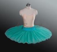al por mayor adulto falda tutú verde-Tutú medio del ballet del verde adulto de la alta calidad, medio tutú del ballet para los niños, vestido del ballet para las muchachas, faldas del tutú adultos, BT8923