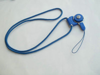 Wholesale Detachable Neck Strap Lanyard Charming Rotatable Strap for Cell phone MP3 MP4 Employee s card Lanyards