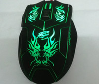 Wholesale High Precision Button Optical Gaming Mouse w DPI Color Changing LED Body for Diablo Dota Civi LOL