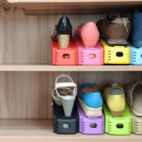 Wholesale Home Daily in one creative shoe storage bunk simple plastic shoe rack portable plastic shoe rack