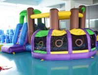 Wholesale Jungle inflatable bouncer for birthday gift and party