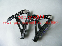 Wholesale 2014 new TIME Black full carbon fiber cycling water bottle cage bicycle parts