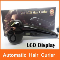 Wholesale Upgrades Pro LCD magic automatic hair curler Perfect curl hair roller curling hair curler machine Styling Tools