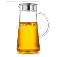 ECO Friendly teapots - Clear Glass Teapot Explosion Proof Kettle High capacity Heat Resistant Teapot Cool kettle