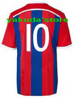 Thailand Quality 2014- 15 Home Soccer Jersey ROBBEN 10 Soccer...
