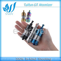 Cheap Top Taifun Gt RBA atomizer High Quality Stainless Steel Taifun GT Rebuildable Atomizer With Adjustable Center Pin